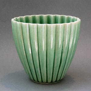 Rillekrukke, mellem, grøn